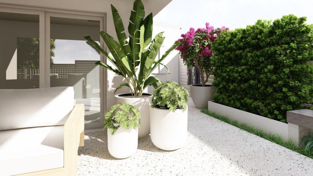 Perth Concrete Abbett Street Scarborough Landscape Design