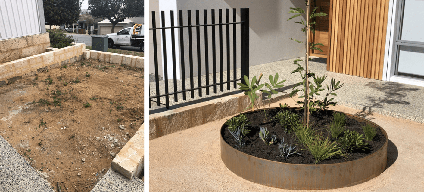 BEFORE & AFTER Landscaping Project at Westview Street, Scarborough