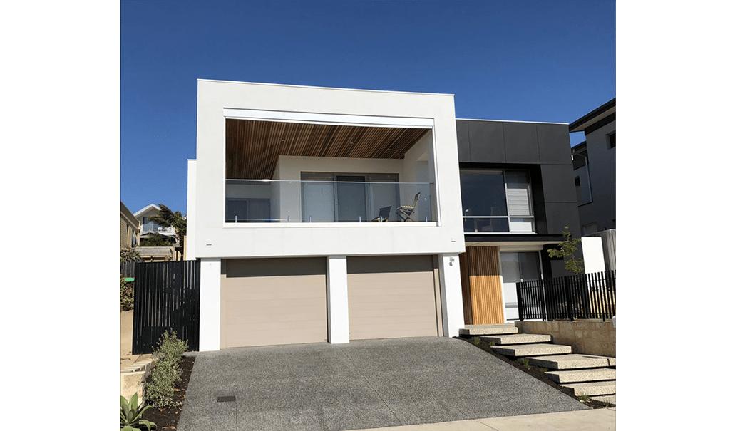 exposed aggregate driveway in Scarborough perth by premier concrete Perths decorative concrete specialists