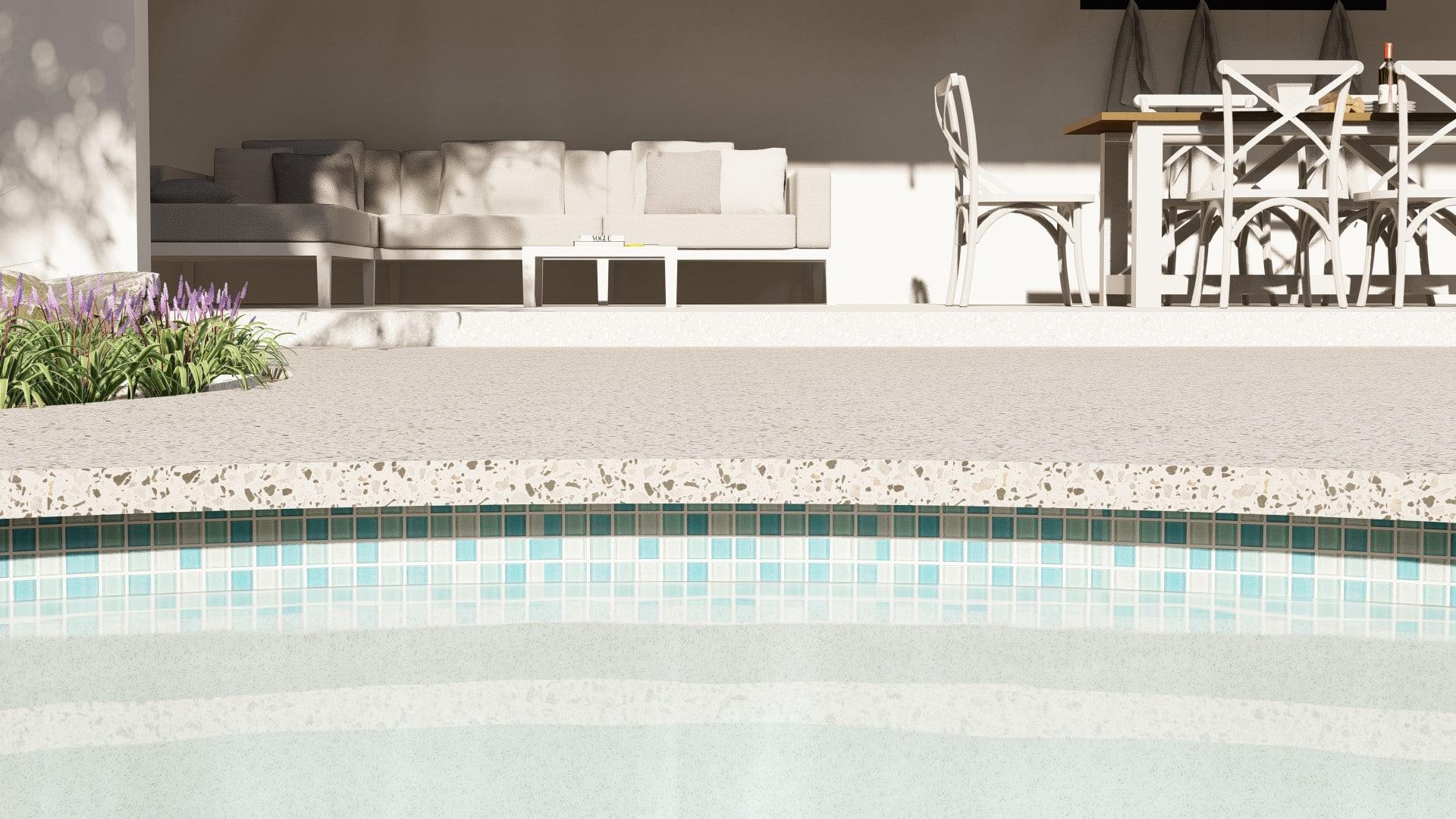 seamless pool edge concrete perth best supplier installer quality concrete