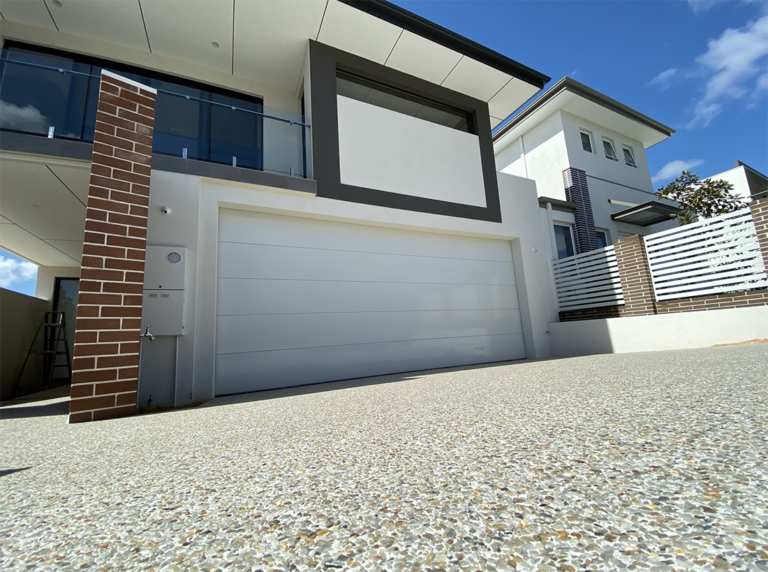premier concrete Perth exposed aggregate driveway near me