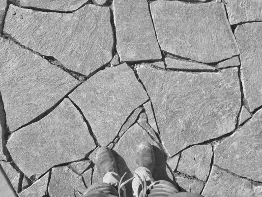Floreat Black & White Image